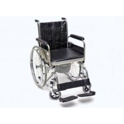 Wózek inwaldzki z funkcja toalety