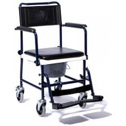 Wózek toaletowy z pojemnikiem sanitarnym