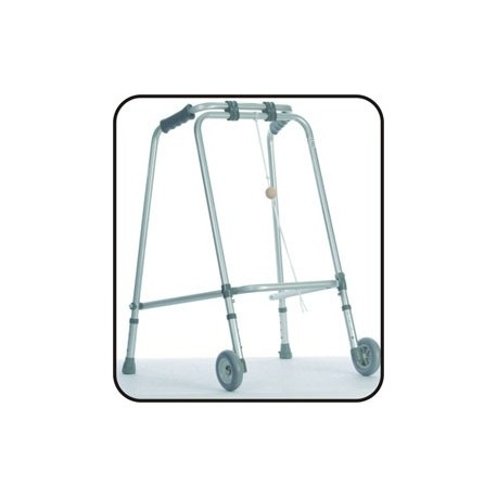 Balkonik 2-kołowy składany z kólką