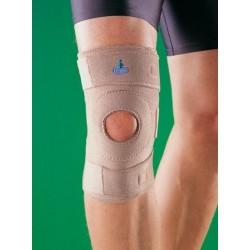 Stabilizator kolana z silikonowym wzmocnieniem rzepk,i 1024