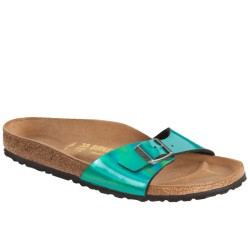 Birkenstock Madrid Mirror Green