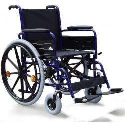 Wózek o wzmcnionej kostrukcji dla osób ważących do 130kg