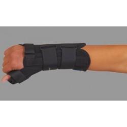 Stabilizator na dłoń i przedramię krótki z ujęciem kciuka