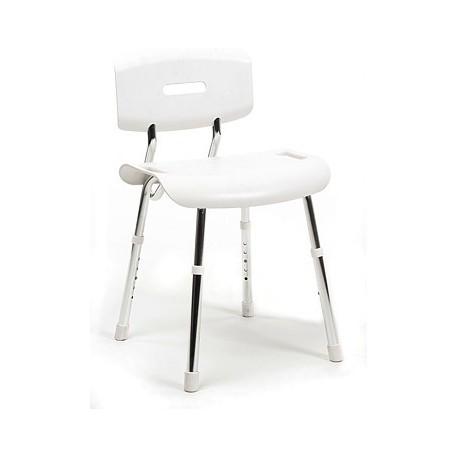 Krzesło  prysznicowy z oparciem Lola