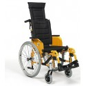 Wózek inwalidzki ze stabilizacja  głowy i pleców Eclips 4  90