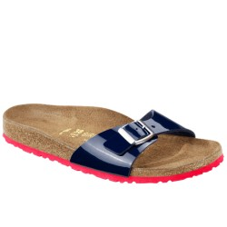 Birkenstock Madrid dress blue