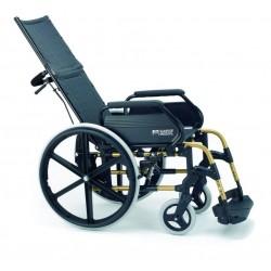 Wózek inwalidzki leżakowy, stabilizujący plecy i głowę