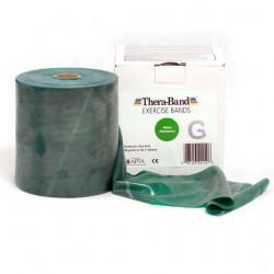 Taśma Thera-Band Zielona- opór mocny- cięta na metry! 250 CM