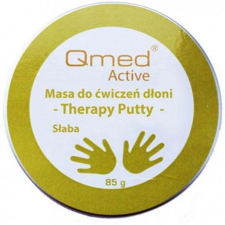 Qmed Therapy Putty –  masa do rehabilitacji dłoni słaba