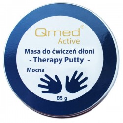 Qmed Therapy Putty –  masa do rehabilitacji dłoni mocna
